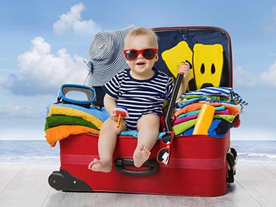Какую одежду взять ребенку отправляясь на юг?
